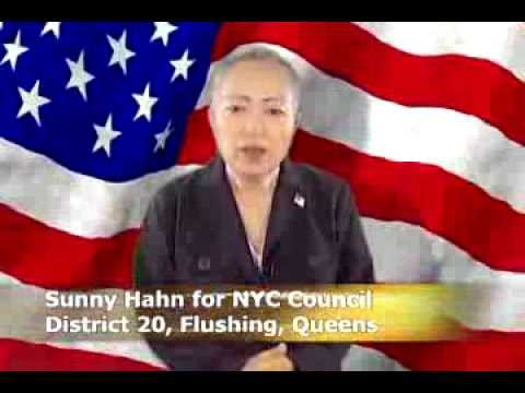 Sunny Hahn for NYC City Council, Flushing Queens (Video 1)