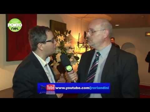 Mario Luis Teza, presidente da Procempa, conversa com Ricardo Orlandini.