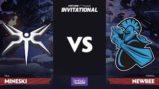 Mineski против Newbee, Третья карта, Group B, SL i-League Invitational S4