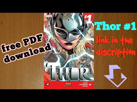 Free PDF comics  Thor #1   High quality marvel,dc comics free download