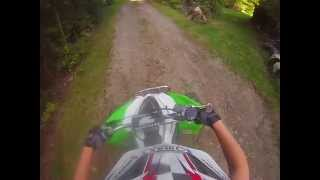 4. First ride on the 2010 KFX 450r