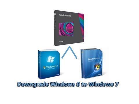 Downgrade Windows 8 to Windows 7 by Britec