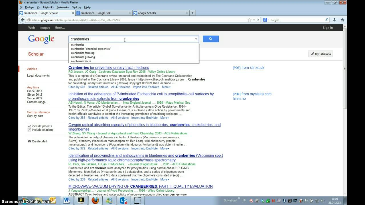 Google Scholar - Introduction
