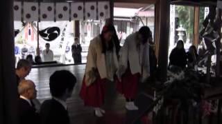 五郎丸神明社・太大神楽3・神楽奉納