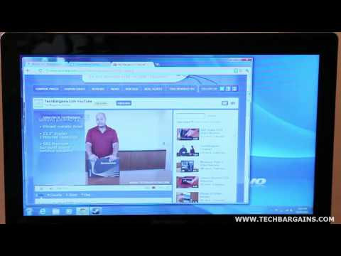 Lenovo IdeaPad Z370 Video Review (HD)