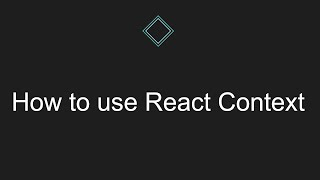 How to use React Context