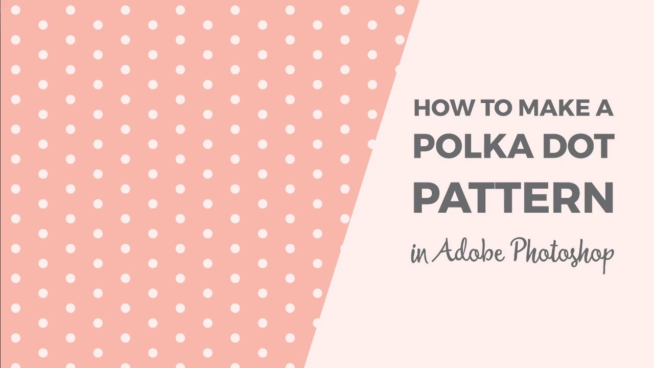 Picture of How in direction of deliver a polka dot habit in just Photoshop