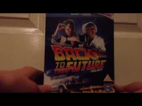 Back To The Future Trilogy (1985-1990) Blu Ray Review