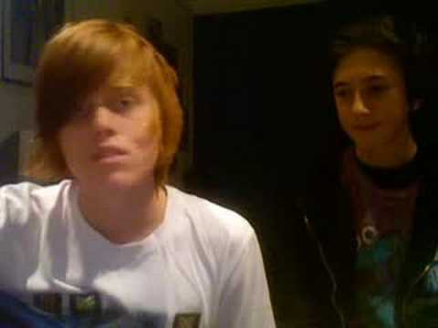Me and Ollie (morrisofilms) Doing An Improvised Song About Stuff leading onto Jelly Tots HAHA :D
