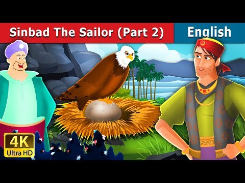Sinbad the Sailor (Part 2) in English | English Story | English Fairy Tales