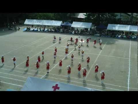 加計小学校運動会 マーチングバンド ファンファーレ 201