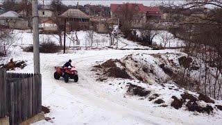 10. Kawasaki kvf360 drift