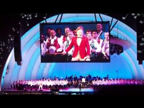 bowl - Conan O'Brien performs the Monorail song at the Hollywood Bowl I apologize for the shaky camera.