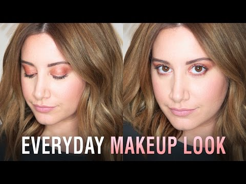 My Everyday Makeup Tutorial | Ashley Tisdale