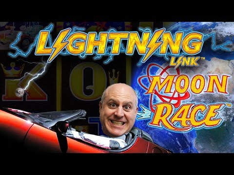 ⚡3 BONUS ROUND$ ⚡Lightning Link MOON RACE Slot WIN$ | The Big Jackpot (видео)