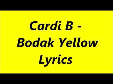 Video Bodak yellow lyrics song download in MP3, 3GP, MP4, WEBM, AVI, FLV January 2017