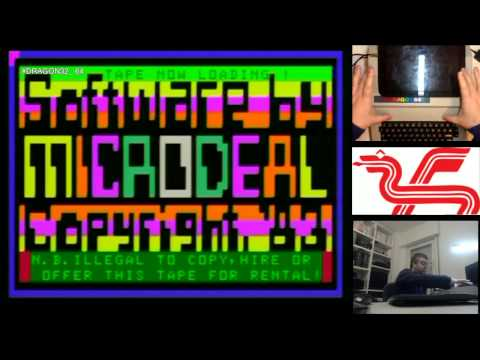 Retro 8bits: Carga Juegos Ordenador Dragon 32 y 64 | 18-01-15