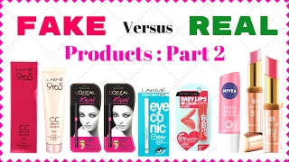 FAKE Products VS REAL Products PART 2  I Simi Bella