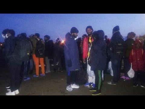 Εκατοντάδες μετανάστες στα σύνορα με Ελλάδα – Αθήνα: Μέγιστη η φύλαξη στα σύνορα…