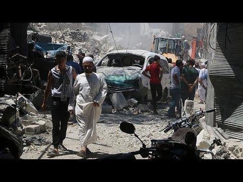 Μαίνεται ο εμφύλιος στη Συρία – Δεκάδες νεκροί άμαχοι στο Χαλέπι
