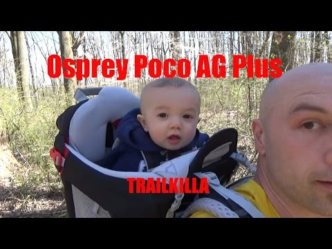 Unboxing and FULL TEST baby Backpack carrier OSPREY POCO PLUS