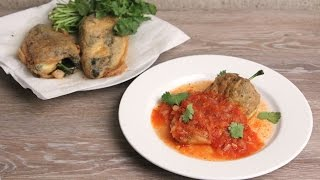Chiles Rellenos Recipe 🌶 Episode 1086 by Laura in the Kitchen