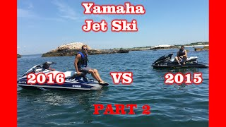10. Yamaha VX Deluxe 2015 vs 2016 : Part 2 - Features & Test Drive