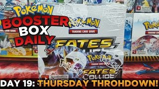 Pokemon Cards - FATES COLLIDE Box Opening Pokemon BOX Daily THURSDAY THROHDOWN Day 19 by ThePokeCapital