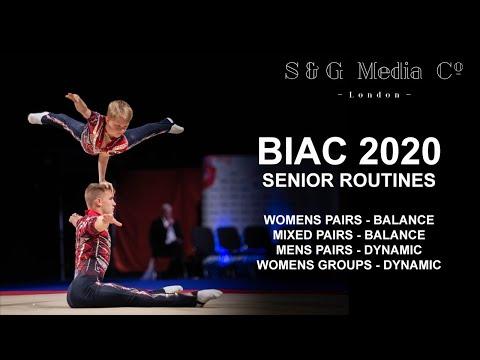 ACRO GYMNASTICS - BIAC 2020 - Senior Routine 1