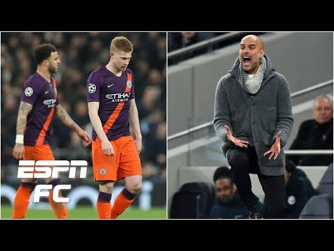 Is Pep Guardiola Or Man City Players To Blame For Tottenham Defeat? | UEFA Champions League