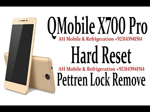 [100%Solve] Qmobile X700 Pro any Lock Remove and Hard Reset