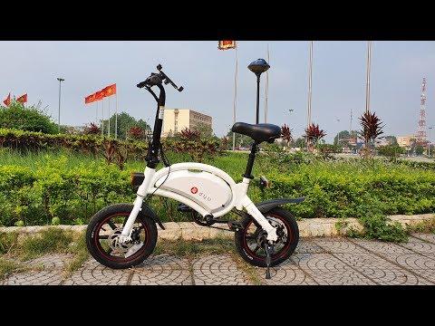 Mở Hộp và Chạy Thử Xe Đạp Điện Thông Minh F-Wheel DYU D3+ - Thời lượng: 11:00.