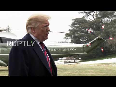 USA: 'Tremendous progress' - Trump talks up his efforts in Syria, North Korea, China