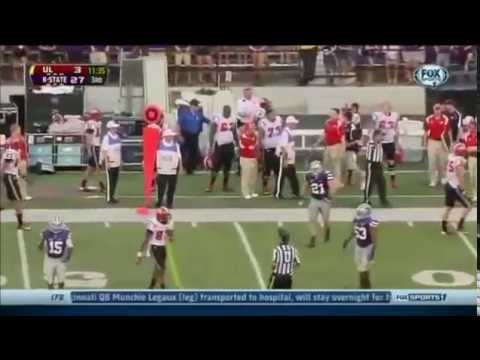 Ryan Mueller Highlights vs Louisiana-Lafayette 2013 video.