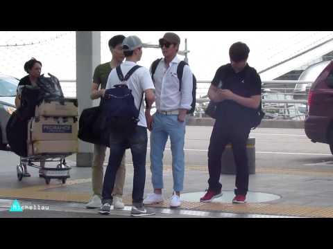 130719 신화 인천공항출국 (видео)