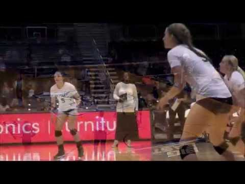 Butler Volleyball Highlights vs.  Cincinnati