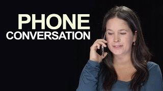 Learn how to start and end a phone conversation in American English. In this Ben Franklin exercise, you'll study everything about what you hear. Sign up for ...