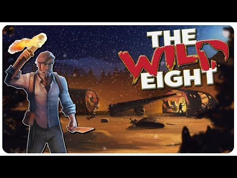 NEW UPDATE! Bunkers, Combat, n' more Arctic Survival! | The Wild Eight Gameplay (видео)