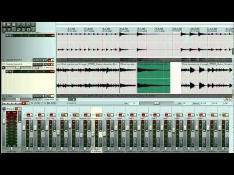 Reaper Editing part 1