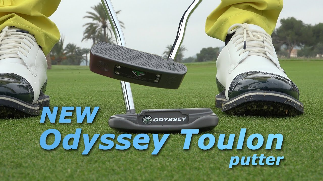 The new Odyssey Toulon putter, you have to feel it