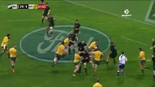 New Zealand v Australia Rd.2 2016 Rugby Championship Video Highlights