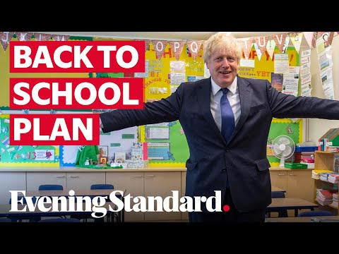 Boris Johnson says September's back to school plan is 'Covid-secure'