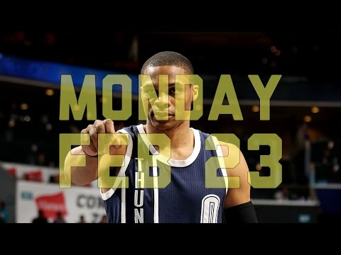 Video: NBA Daily Show: Feb. 23 – The Starters