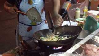THAI STREET FOOD, PAD THAI WITH SEAFOOD