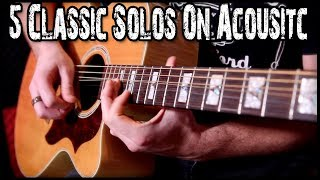 Download Lagu 5 Classic Solos On Acoustic Mp3