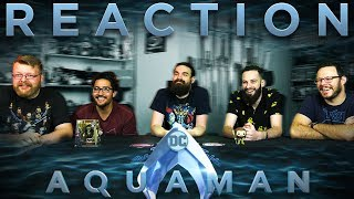 Aquaman Extended Trailer 2 REACTION!!