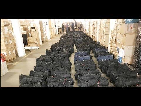 Mega-Fund im Hamburger Hafen: 4,5 Tonnen Kokain entde ...