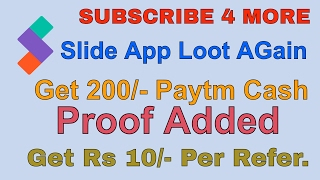 Slide App Loot New Trick Rs 10 per Refer  Payment ProofDownload and Get Rs 10 + Rs 20 On RedeemMust Verify your Email To Get BonusSlide App Link -https://42.slde.io/c8b63808kEYWORDS-how to make money online,slid application earn free recharge,android app slide lock and unlock earn m9bile recharge,paytm earn money,mobikwik walete transfer money,real cash earn from slide apps,how to hack,hack slide app,hack slide,free recharge,get,hack slide app and get free recharge,How to hack Slide App And Get Unlimited Recharge,Free,Unlimited,free rechage app,recharge,root to hack,2016,2015,2017,free,slide app,slide app hack,undefined,channel,free internet,free recharge from slide (100%proof),free recharge app,free recharge app for android,slide app tricks,slide app android,slide app hacking,free Recharge,champchash,slideshow app,Get up to Rs 450 Paytm with out Referring from slide,Get up to Rs 450 Paytm with out Referring in slide,Rs 450 Paytm with out Referring from Slide,Slide app,Slide App hack,Slide app Loot,Slide app Loot offer,Slide app Loot trick,Slide app offer,Slide app paytm loot,Slide app proof,Slide app refer and earn trick,Slide app Trick,Slide app unlimited Tricks,Slide loot,Slide paytm trick,Trick to get Rs 0.15 per time in Slide App,Paytm Cash Earning Tricks,slide,slide app,hack slide app,slide app trick,https,free,get,free recharge,slide app,slide app trick,slide auto unlock,slide app auto unlock,slide,hack slide app,free recharge,free