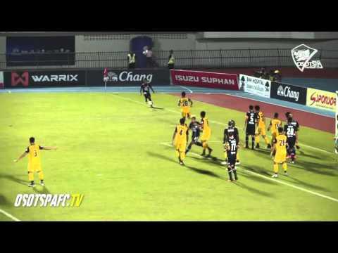Goal Highlight Suphanburi FC 2 2 osotspa M 150 Samutprakan FC