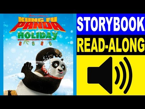 Kung Fu Panda Read Along Storybook, Read Aloud Story Books, Books Stories, Kung Fu Panda - Holiday